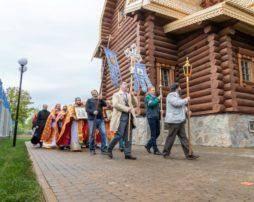 Фотогалерея освящение нижнего храма