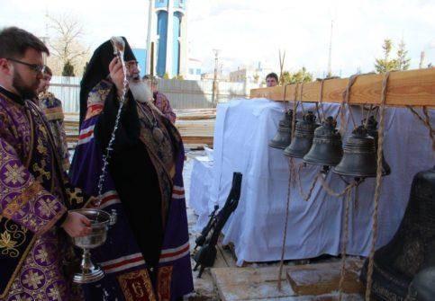 Фотогалерея освящение колоколов