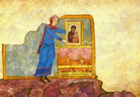"""Мультфильм """"Свет неугасимый"""" об Иверской иконе Божией Матери"""