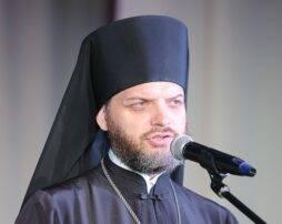 12 апреля встреча с настоятелем собора Андрея Первозванного г. Волхова иеромонахом Онуфрием (Лариным)