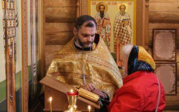 11-12 сентября 2021 года в Андреевском соборе были совершены праздничные Богослужения